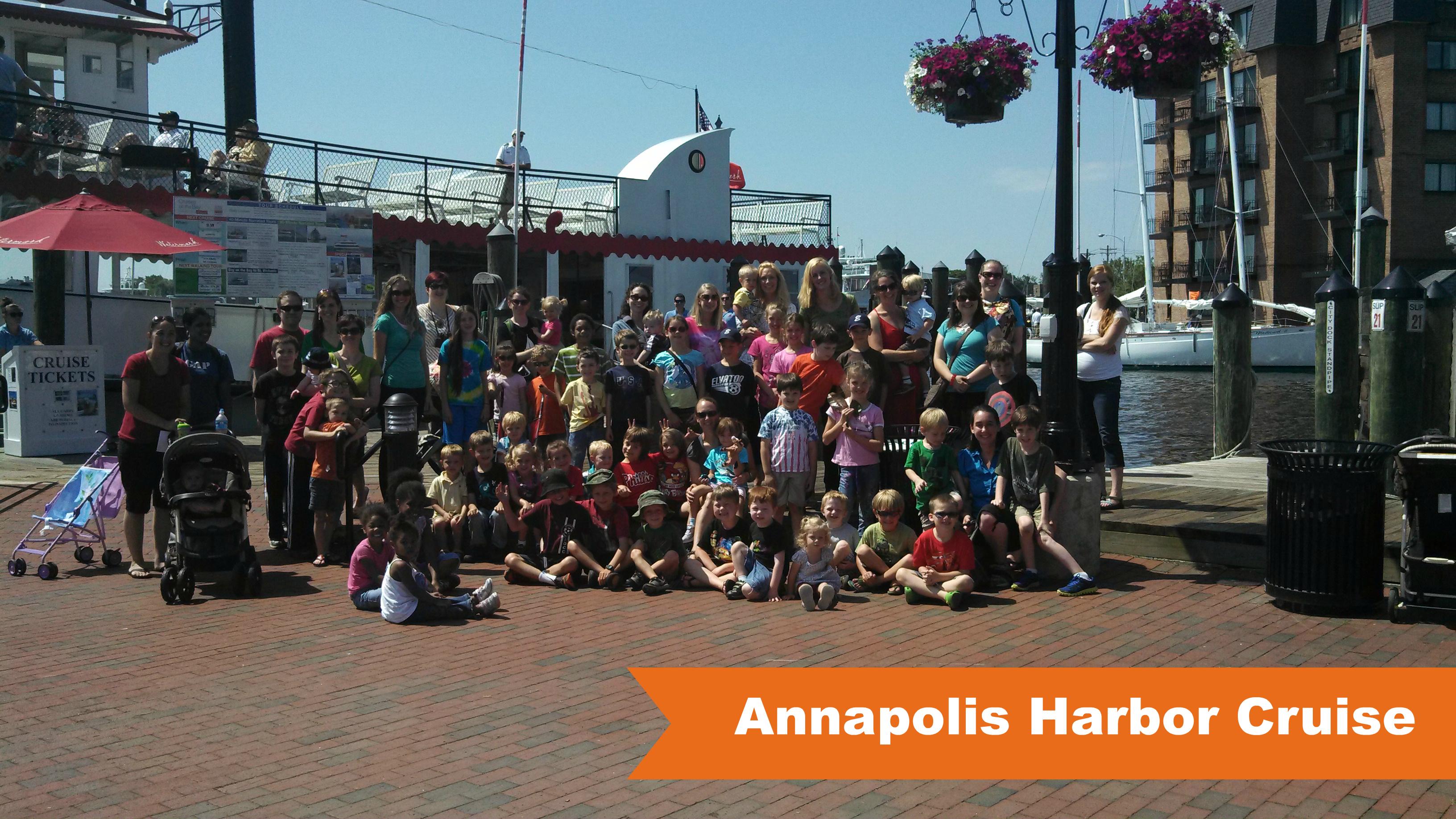 Field Trip Club on a Annapolis Harbor Cruise