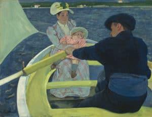 Mary Cassatt - The Boating Party