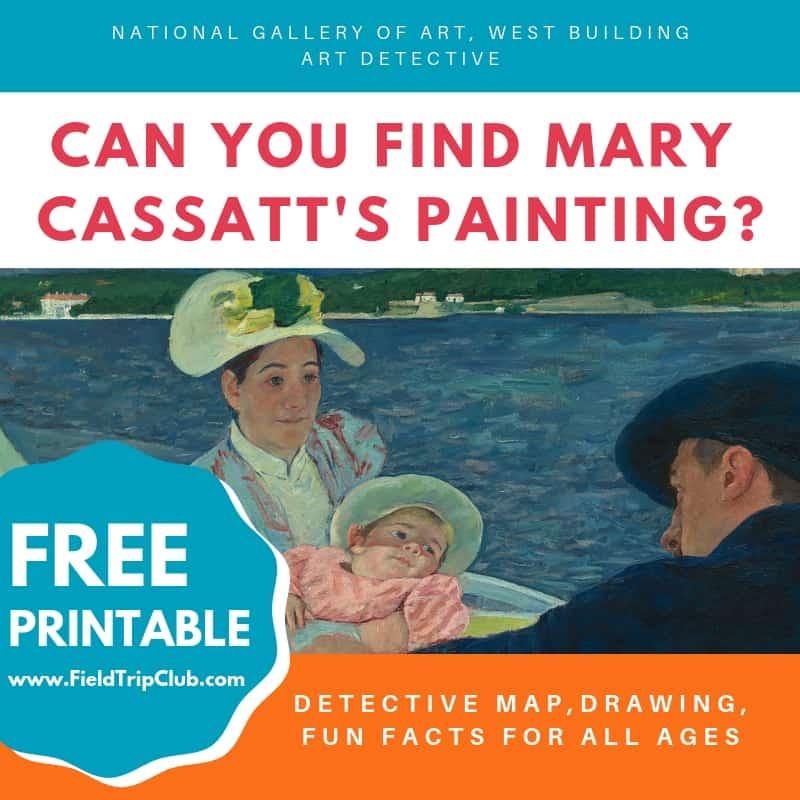 Kid's Printable Activity for the National Gallery of Art: Mary Cassatt