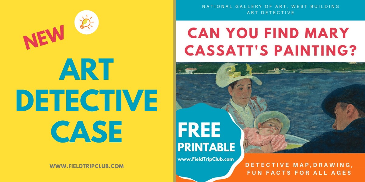 Can You Find Mary Cassatt's Painting? Free Kid's Printable for the National Gallery of Art