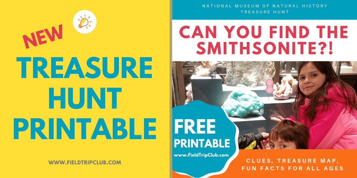 Can You Find the Smithsonite? Free Printable for the Natural History Museum