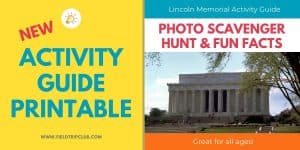 1200x600 Lincoln Memorial Activity Guide