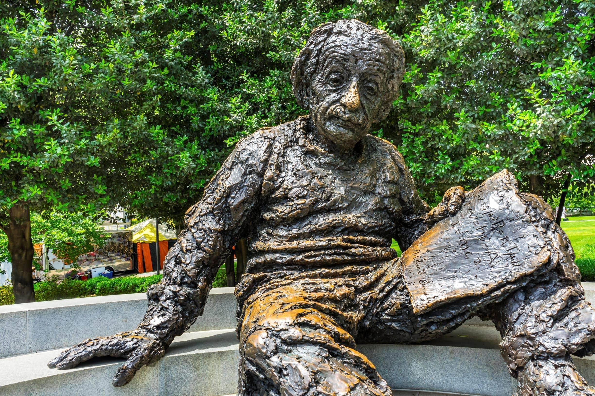 Albert Einstein Memorial in Washington, DC