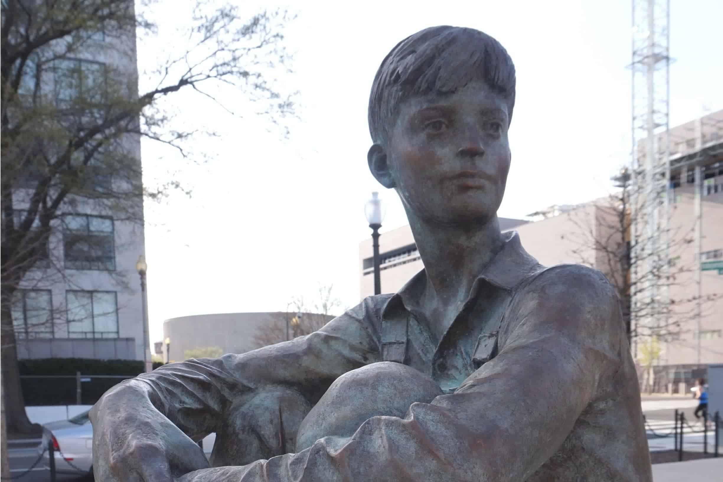 Lincoln Memorial Statue in Washington, DC
