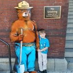 Meet Smokey Bear at the U.S. Forest Headquarters in Washington, DC