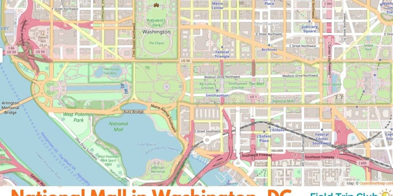 Coloring Washington, DC: What is the National Mall?